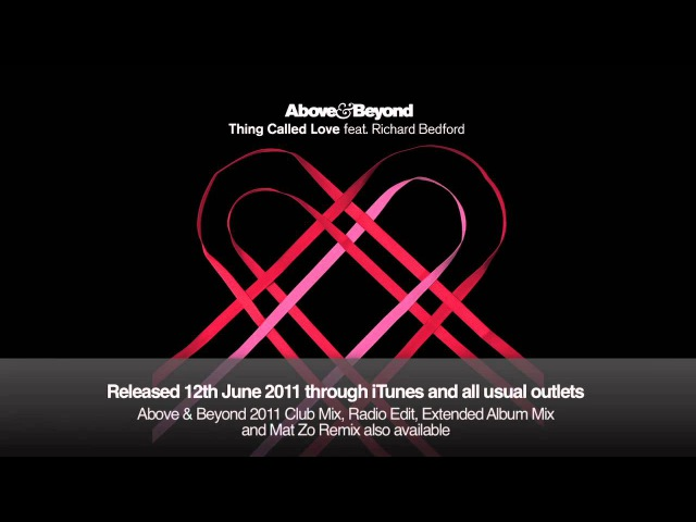 Above Beyond Thing Called Love Mike Shiver vs Matias Lehtola Acoustic Remix