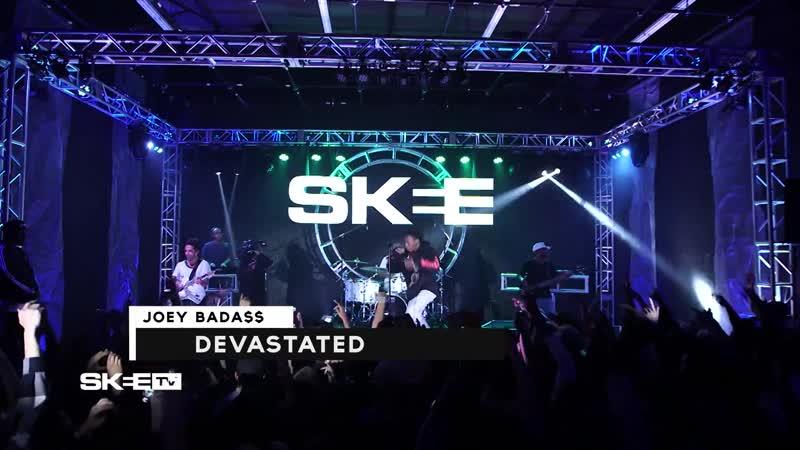 "Joey Bada$$ ""Devastated"" Live perfoms"