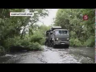 Учения на Камчатке Зенитный ракетно-пушечный комплекс Панцирь-С1