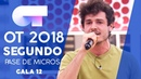 SOME NIGHTS MIKI SEGUNDO PASE DE MICROS GALA 12 OT 2018