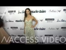 Angela Sarafyan on the red carpet for Marie Claire s 5th Annual Fresh Faces in LA