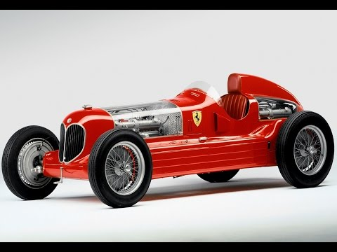 Alfa Romeo 16C Bimotore, Museo Casa Enzo Ferrari, Modena, Emilia-Romagna, Italy, Europe