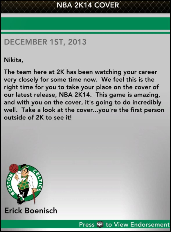 NBA2K14 COVER