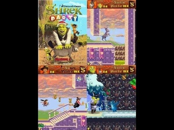 Shrek party прохождение 2 » Freewka.com - Смотреть онлайн в хорощем качестве