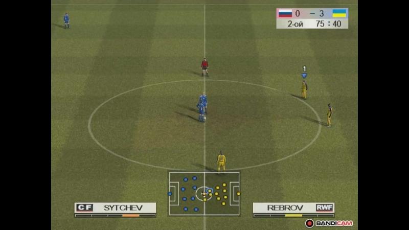 Pro Evolution Soccer 4/PES 4(Gameplay PC) Ukraine vs Russia