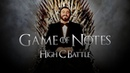 High C Battle! | GAME OF NOTES | Tenores