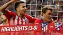 Атлетико Мадрид 3-0 Уэска обзор матча чемпионата Испании Ла Лига