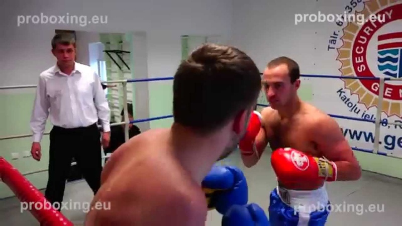 Dmitrijs Gutmans (Debut) (Latvia) VS Olegs Asejevs (Latvia) 10.10.2014 proboxing.eu