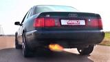 Audi S6 C4 20V Turbo Anti Lag SOUND