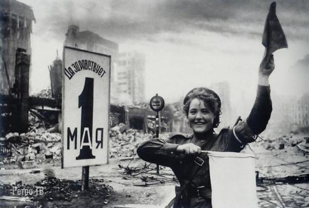 Регулировщица Мария Шальнова. 40-е.