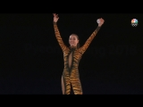 Alina Zagitova NBC Ex Gala olympic becomes 'Priestess of Fire'