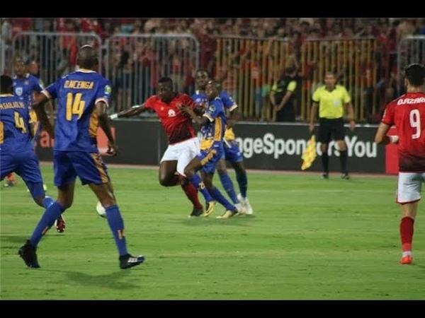 أهداف الأهلى و تاون شيب 3 0 وتألق وليد أزارو
