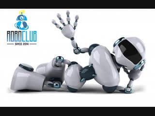 Робот поднимающийся по ступенькам!