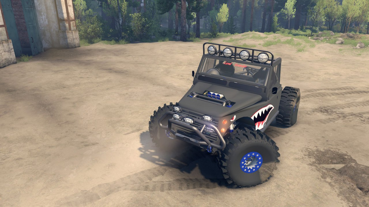 Land Krawler 1.0 для Spintires - Скриншот 1