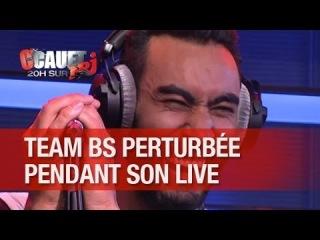 La team BS perturbée pendant leur live ! - C'Cauet sur NRJ