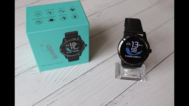 Smart Watch Смарт Часы Lemfo T1 Распаковка