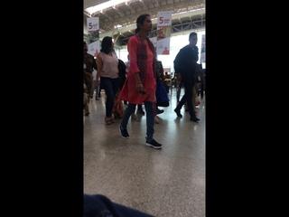 Madhuri Dixit at Bhuvneshwar Airport - Odisha Hockey Men's World Cup Bhuvneshwar 2018