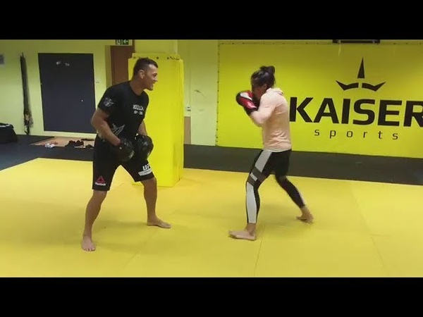 Joanna Jedrzejczyk Training 20 09 18