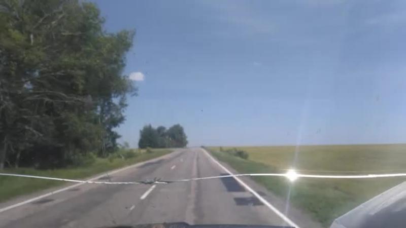 где-то в Белгородской области,среди полей, интернет ловит лучше чем в центре Курская