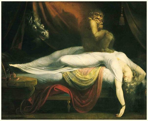 Генри Фусели (1741 -1825) Кошмар масло 102 х 127 1781 г Дейтройтский институт искусств