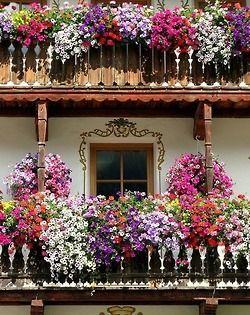 Уютные балкончики #DIY_Идеи