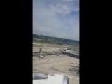 Airbus A321 take off airport Z