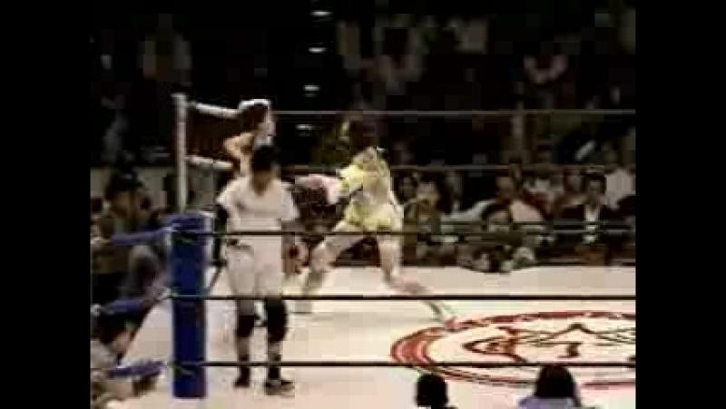9. Nagayo, Sugar Sato vs. Shinobu Kandori, Michiko Omukai (4.29.1996)