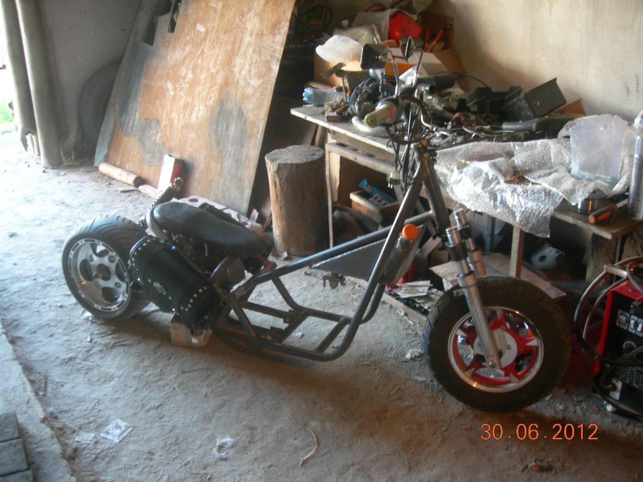 69 Крутой самодельный Спортивный Мотоцикл Яндекс. Видео