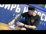 Алексей Красиков выбрал победительницу тату от ХК Сибирь