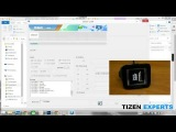 Flashing Tizen onto the Original Samsung Galaxy Gear 1