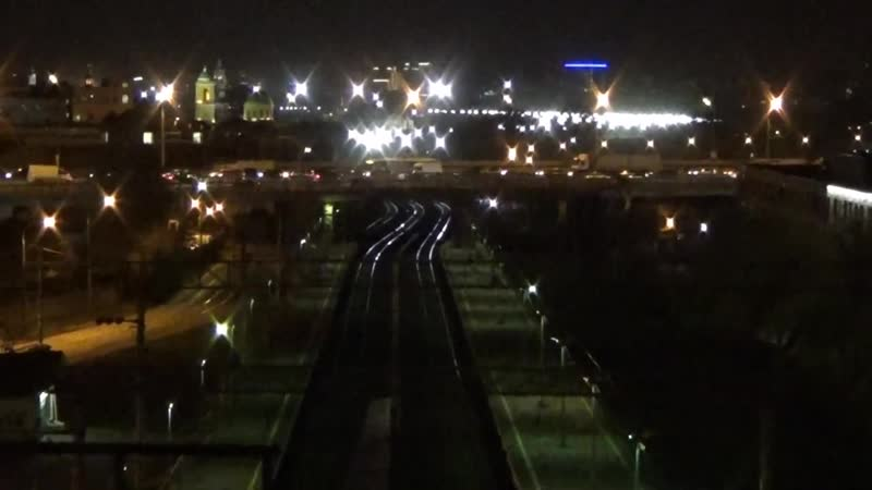 Руфинг моста около центра Москвы - Roofing of the bridge near the center of Moscow