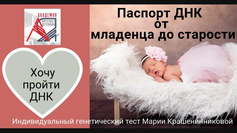4 - Процесс забора Генетического теста. Академия Интернет Сетевик. Новосибирск