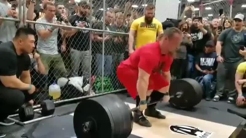 Тяга 408,5 кг. Дэн Грин на Арнольд Классик 2018