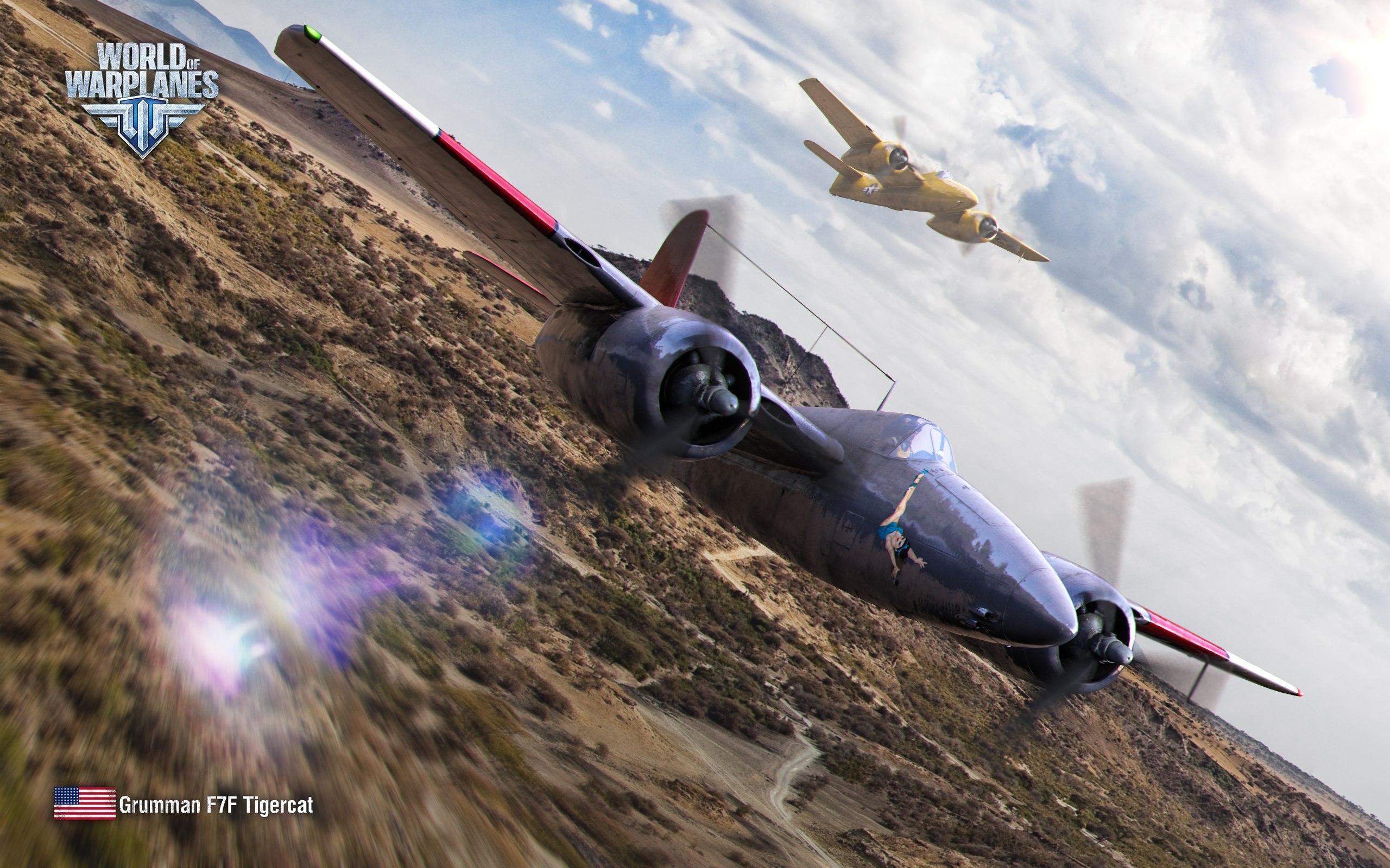 рисунок Grumman  F7F Tigercat
