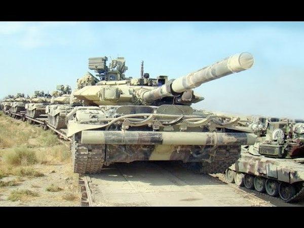 И всё-таки танки... Азербайджан стягивает военную технику к зоне нагорно-карабахского конфликта...