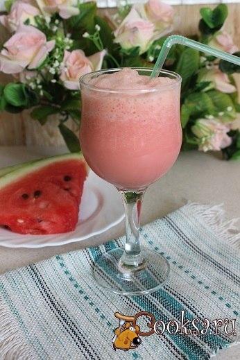 Арбузный фреш Летний освежающий напиток.
