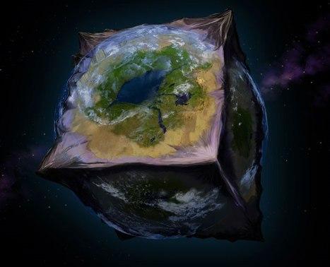 Земля-кубик