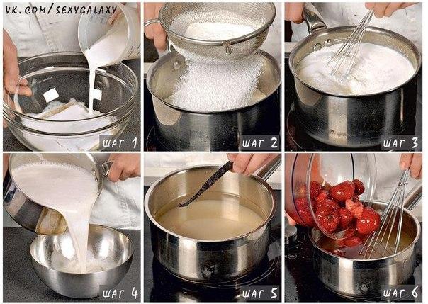Рецепт приготовления итальянского десерта - панакота.