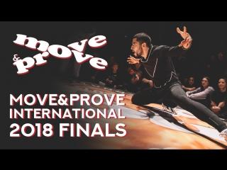 Move&prove international 2018 finals | promo