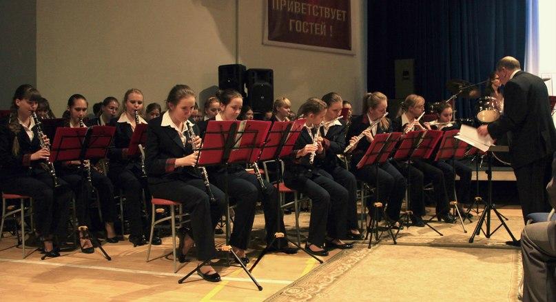 Концертный оркестр музыкальных классов на базе Пансиона воспитанниц МО РФ