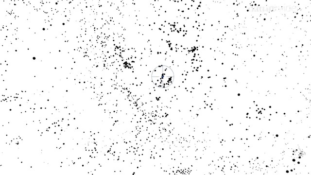 3D карта и движение галактик Положение Млечного пути