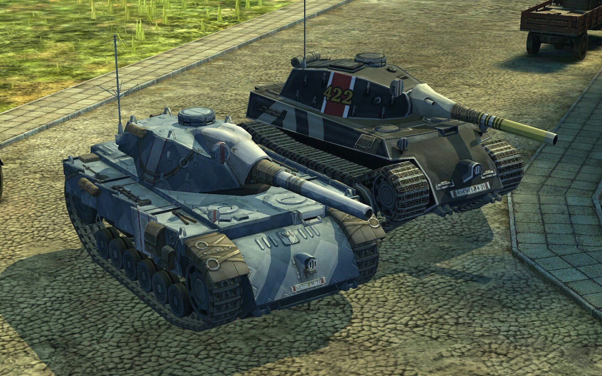 WoT Blitz – Valkyria Chronicles Collaboration – The Armored