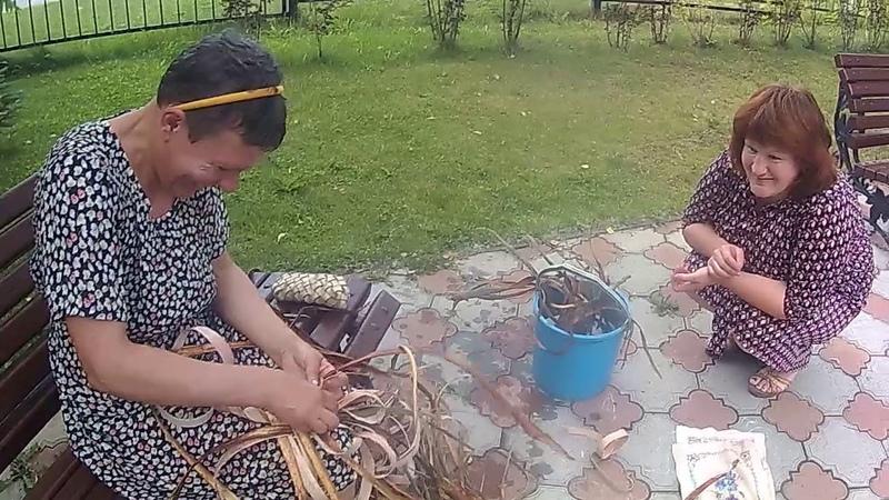 вторая профессия по плетению русских лаптей!