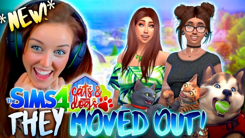 *NEW SERIES!*👭CHARLIE CIARA MOVE TO BRINDLETON BAY!🐚 (The Sims 4 CATS DOGS 1🏖)