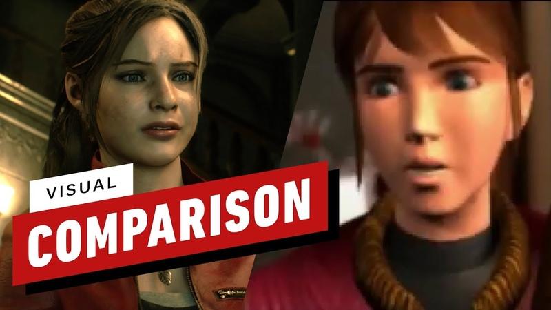 Resident Evil 2 Graphics Comparison 1998 vs. 2019