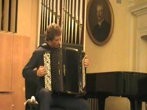 Volodymyr Runchak - Portraits of composers, suite №1 for accordion (IV mov - Stravinsky)