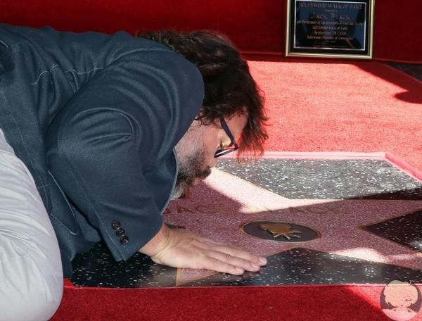 Джек Блэк получил звезду на Голливудской «Аллее славы».