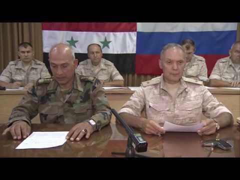 Заседание ЦПРРБ и Межведомственного координационного штаба Сирии по возвращению сирийских беженцев