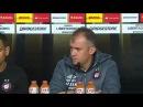 Atlético PR 2 x 3 Santos - Coletiva Técnico Eduardo Baptista após derrota