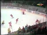 Чемпионат мира по хоккею 1989, Швеция, групповой этап, СССР-Швеция, 3-2, 1 место, Быков Вячеслав